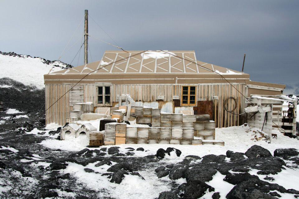 Historische Hütte am Cape Royd's