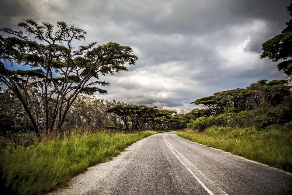 Unwetter in den Eastern Highlands, nahe der Grenze zu Mosambik