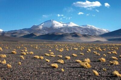 Die Weite der Landschaft zu Füßen des Ojos del Salado ist überwältigend.