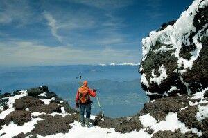 Blick vom Gipfel der Mt. Fuji