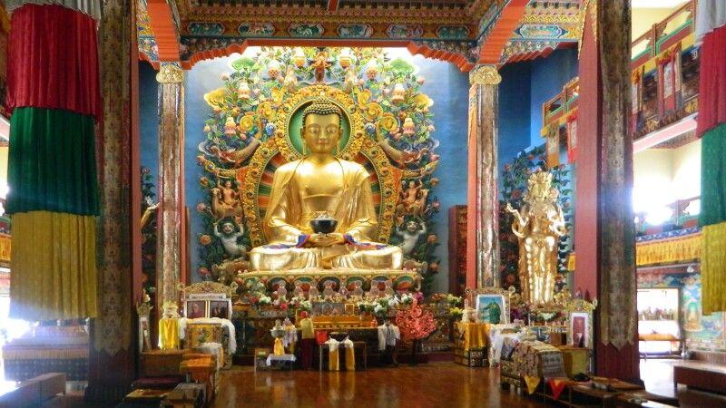 buddhistisches Neydo-Kloster bei Pharping im Kathmandutal © Diamir