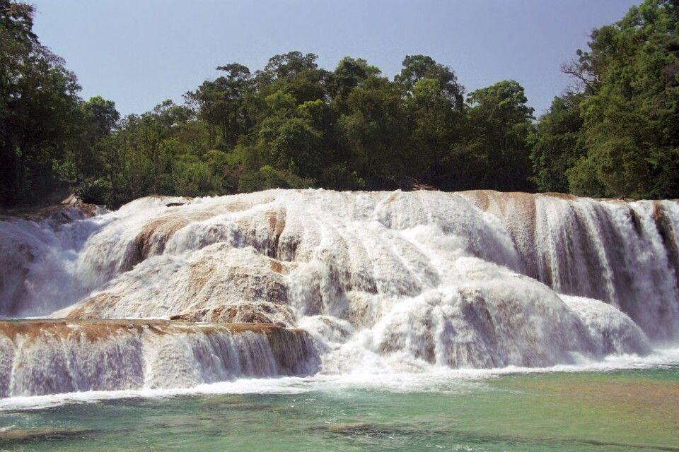 Wasserfall Aqua Azul nahe Palenque