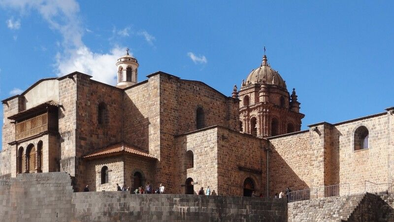 Coricancha in Cusco © Diamir