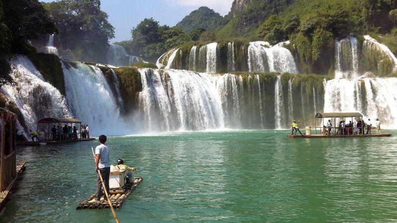 Ban-Gioc-Wasserfall - der größte Vietnams © Diamir