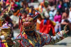 Maskentanz beim Klosterfestival