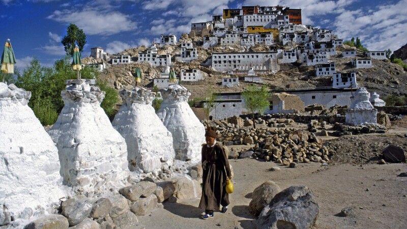 Kloster Thiksey in Ladakh © Diamir