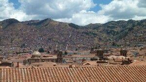 Ausblick von Iglesia San Blas auf Cusco