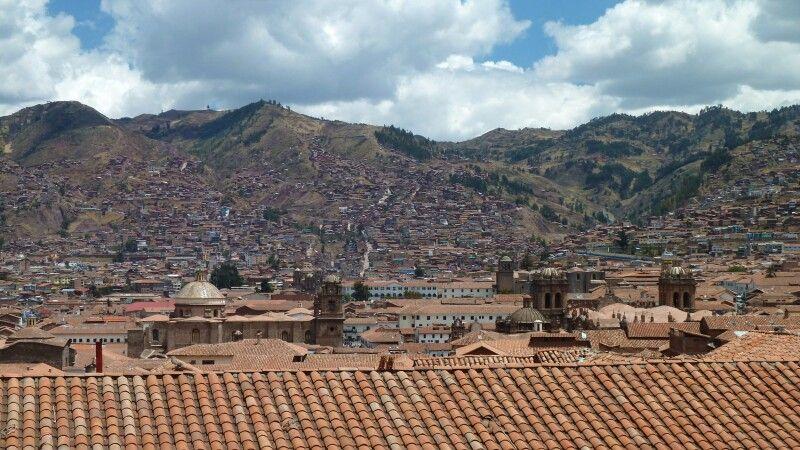 Ausblick von Iglesia San Blas auf Cusco © Diamir