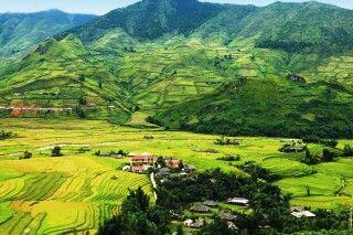 Bezaubernde Bergwelt von Mu Cang Chai