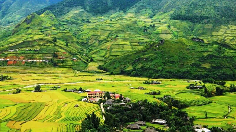 Bezaubernde Bergwelt von Mu Cang Chai © Diamir