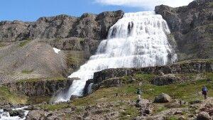 Wasserfall Dynjandi