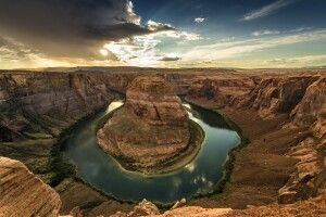 Horseshoe Bend mit Colorado River