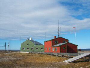Isfjord Radio von außen