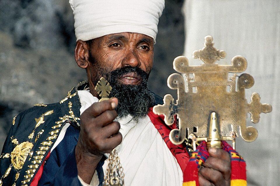 Priester in Lalibela