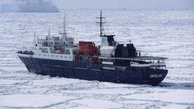 Ortelius im Eis © Diamir