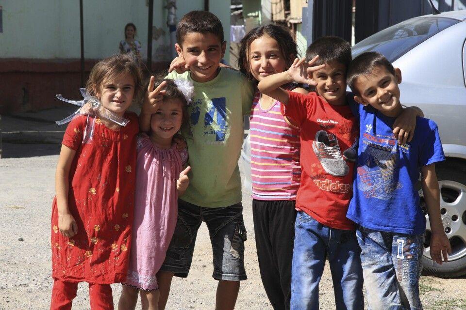 Kinder in Duschanbe