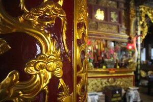 Tempelinneres in Hanoi