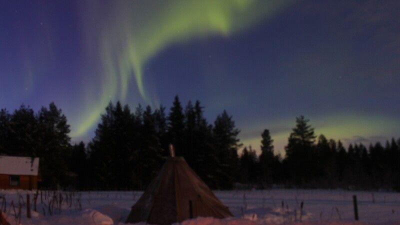 Winter ist Nordlichtsaison! © Diamir