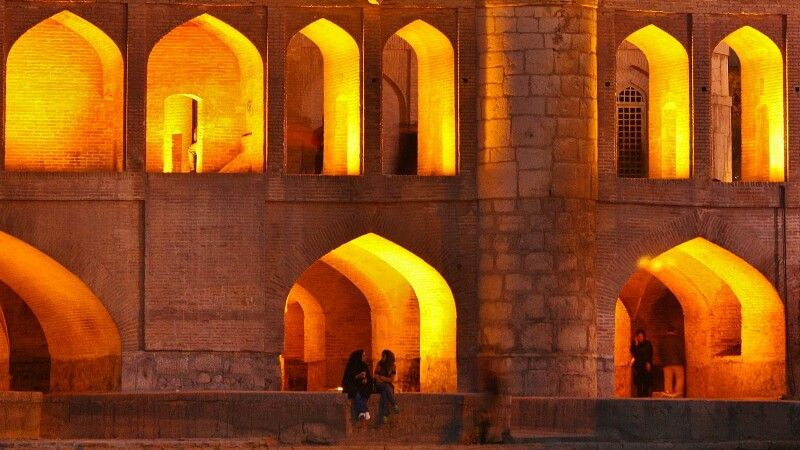 Si-o-Se Pol-Brücke in Isfahan © Diamir