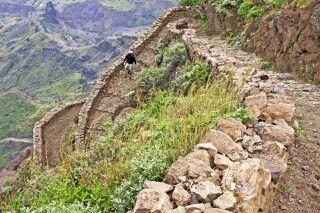Abstieg nach Cha de Morte