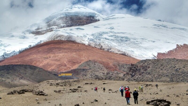 Cotopaxi (5897m) – Weg zur Schutzhütte (4800m) © Diamir