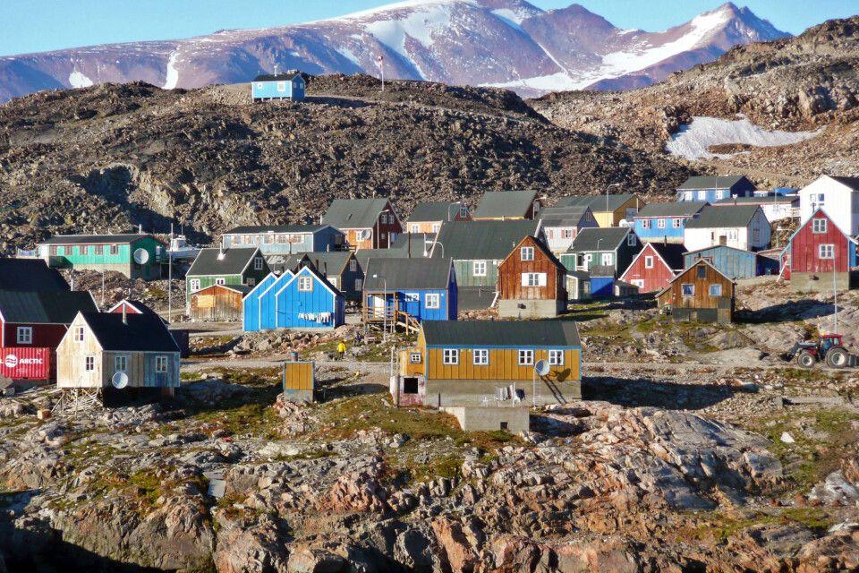Die farbenfrohen Häuser von Ittoqqortoormiit