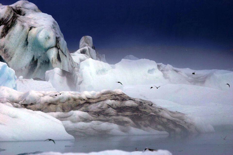 Die Gletscherlagune Jökulsarlon