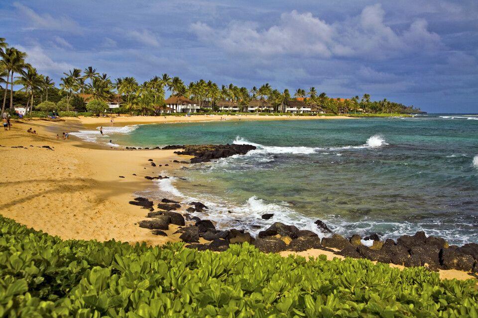 Strand von Poipu auf Kauai