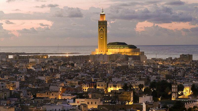 Blick aus dem Novotel Casablanca City Center © Diamir