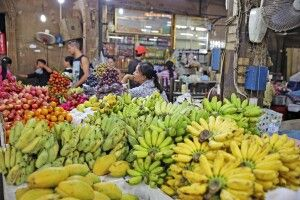 Obstmarkt in Siem Reap