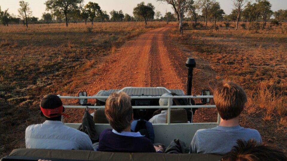 Pirsch in Sambia