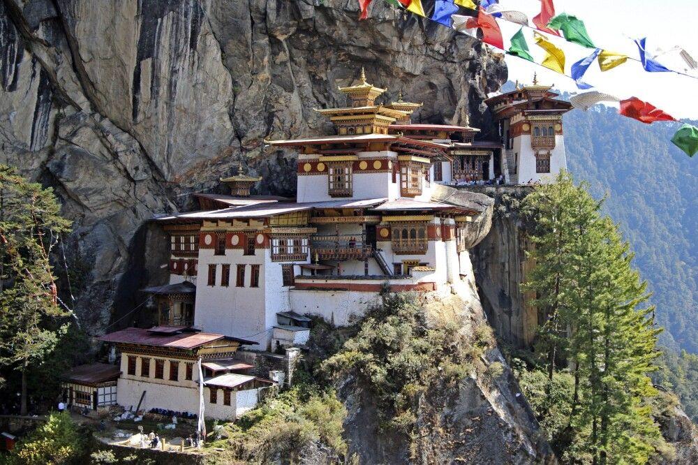 Kloster Taktshang (Tigernest)