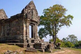 Tempel des sagenhaft gelegenen Preah Vihear an der thailändischen Grenze