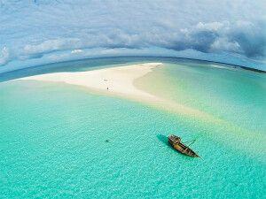 Sandbank vor Pemba Island