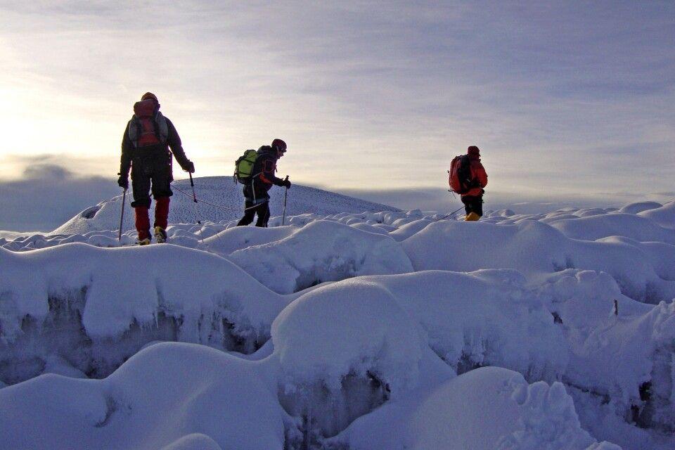 Gipfelbereich des Chimborazo
