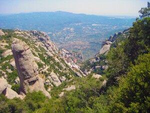 Das exponierte Kloster Montserrat