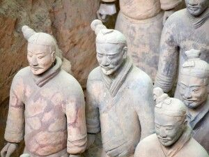 Terrakotta-Armee bei Xian