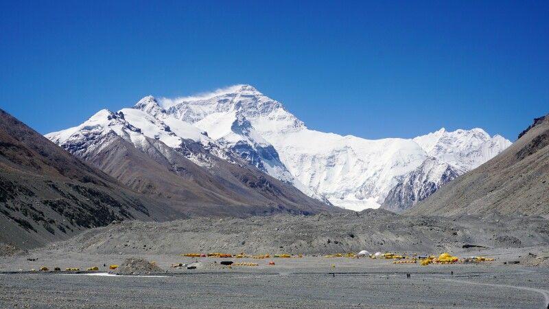 Mount-Everest-Basislager auf tibetischer Seite © Diamir