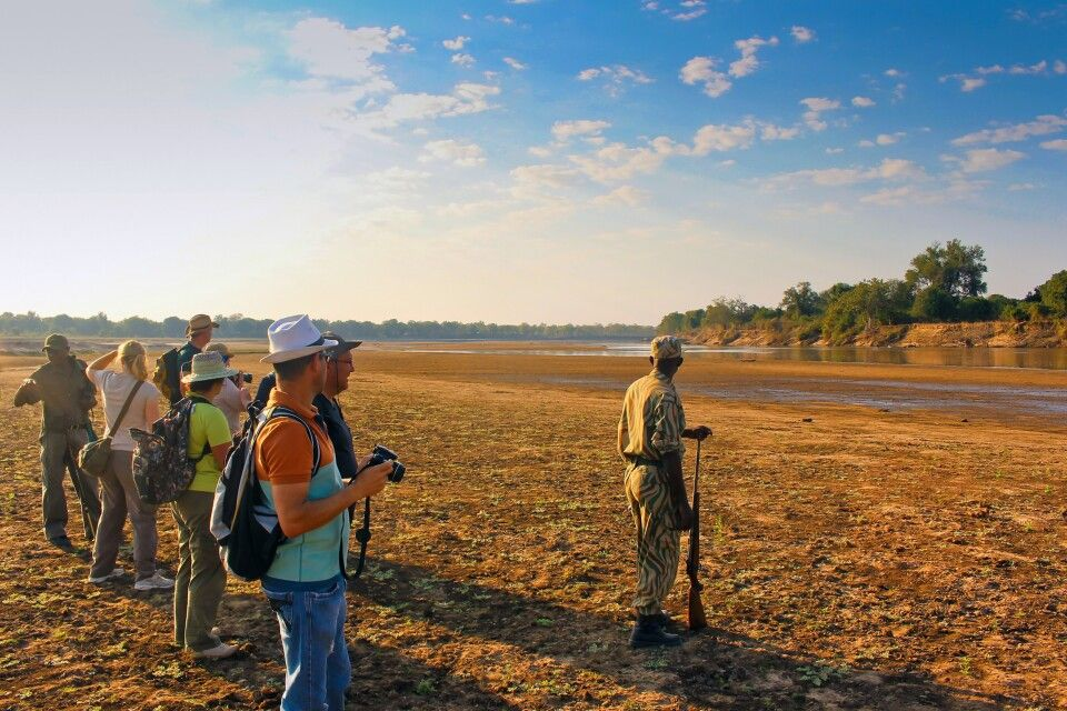 Wandersafari im South-Luangwa-Nationalpark