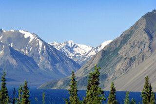 Kluane Lake im Kluane NP, Yukon