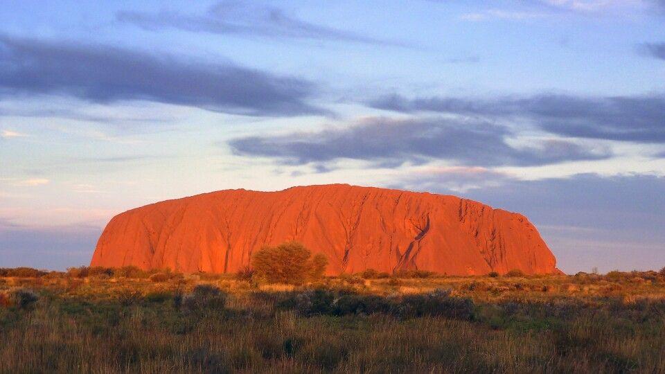 Uluru am Abend