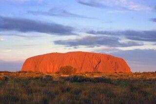 Uluru (Ayers Rock) am Abend