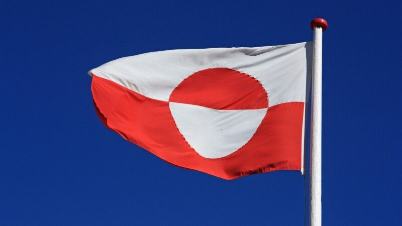 Grönländische Flagge © Diamir