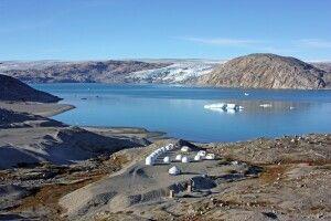 Gletschercamp mit Ausblick