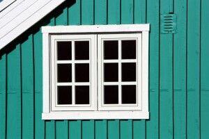 Farbenfrohe Häusschen