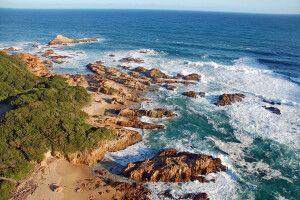 Küstenlandschaft an der Garden Route
