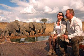 Entspannen mit Elefanten