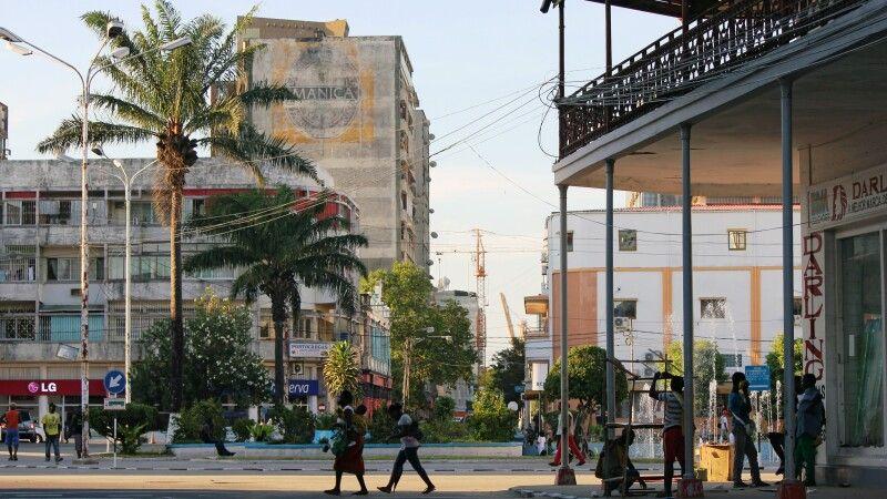 """Praça do Município"" in Beira © Diamir"