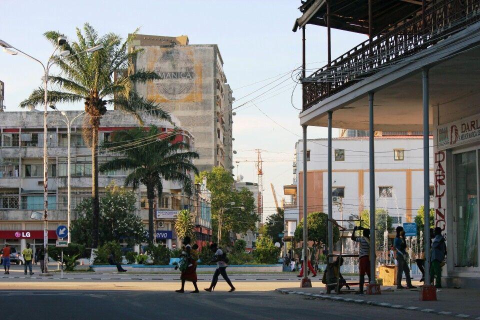 """Praça do Município"" in Beira"