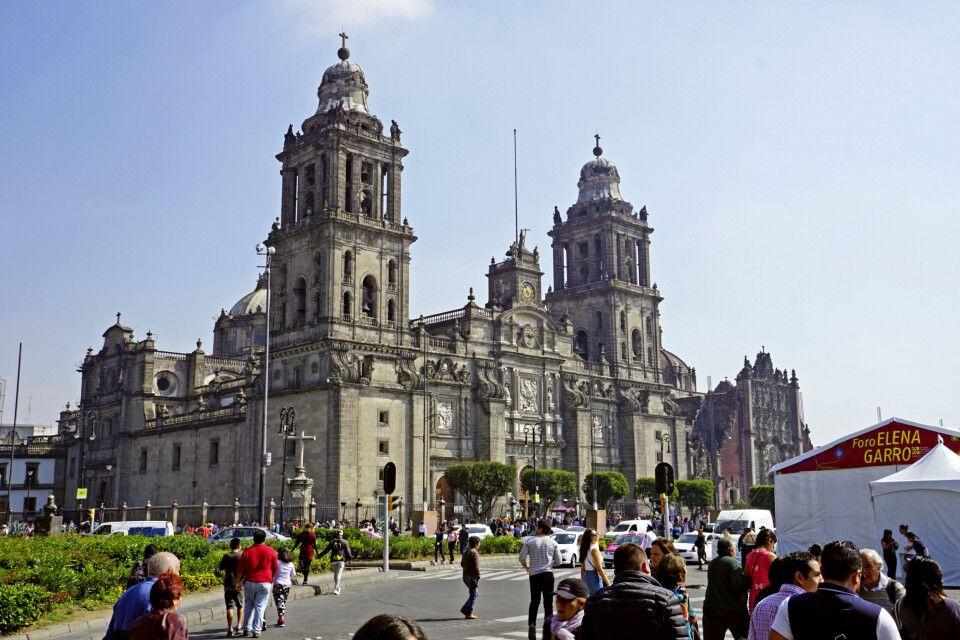 Kathedrale von Mexico City – die älteste Kathedrale Amerikas